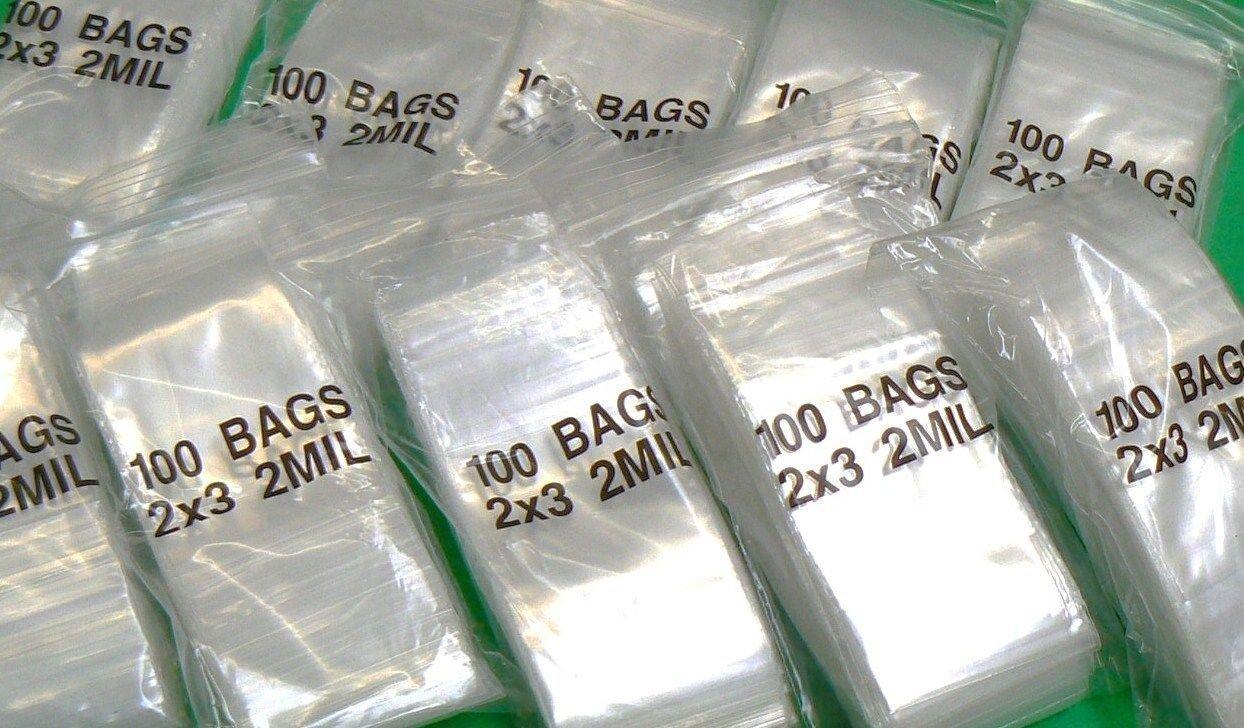 Amazon.com: 6000 Ziplock Bolsas 2 x 3 plástico de plástico ...
