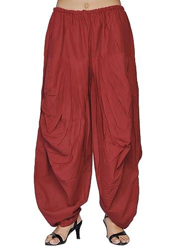 Jaipur Kala Kendra - Salwar - para mujer rojo rosso Medium