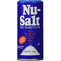 Nu-Salt Salt Substitute - 3 Oz Crystals