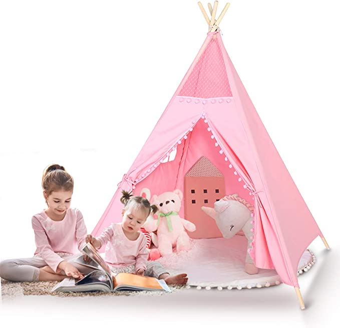kids-teepee-children-game-playhouse-tent
