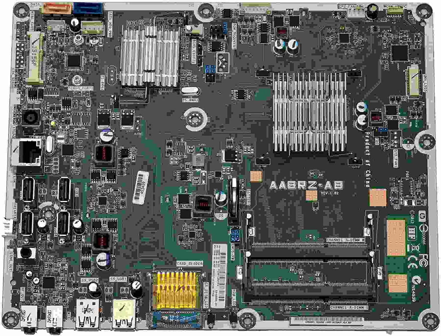 HP Pavilion 20 Araza2 AIO Intel Motherboard AMD E1-1200 1.4GHz CPU 698060-001
