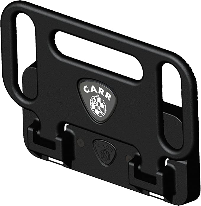 Carr 190011 Mega Step Hitch Mount; XP3 Black; Fits 2-2.5 in Receivers; Requires Standard Pin And Clip; Sold As Singles;