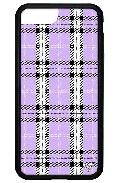 c26a613076 Amazon.com: Wildflower Limited Edition iPhone Case for iPhone 6 Plus, 7  Plus, or 8 Plus (Lavender Plaid): Cell Phones & Accessories