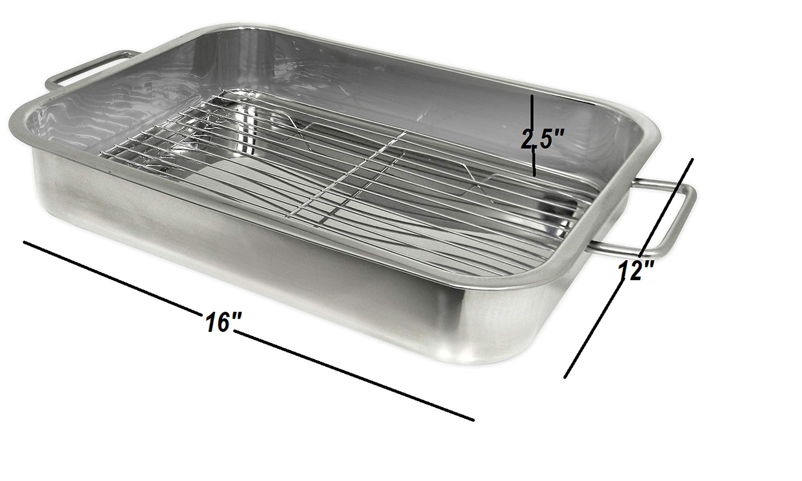 Prime Pacific Stainless Steel Roasting/Lasagna Pan by Prime Pacific