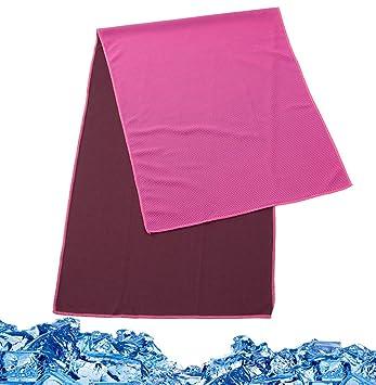 CHRISLZ toallas de microfibra toallas de refrigeración absorbentes frescas toallas de refrigeración multiusos para viajes,