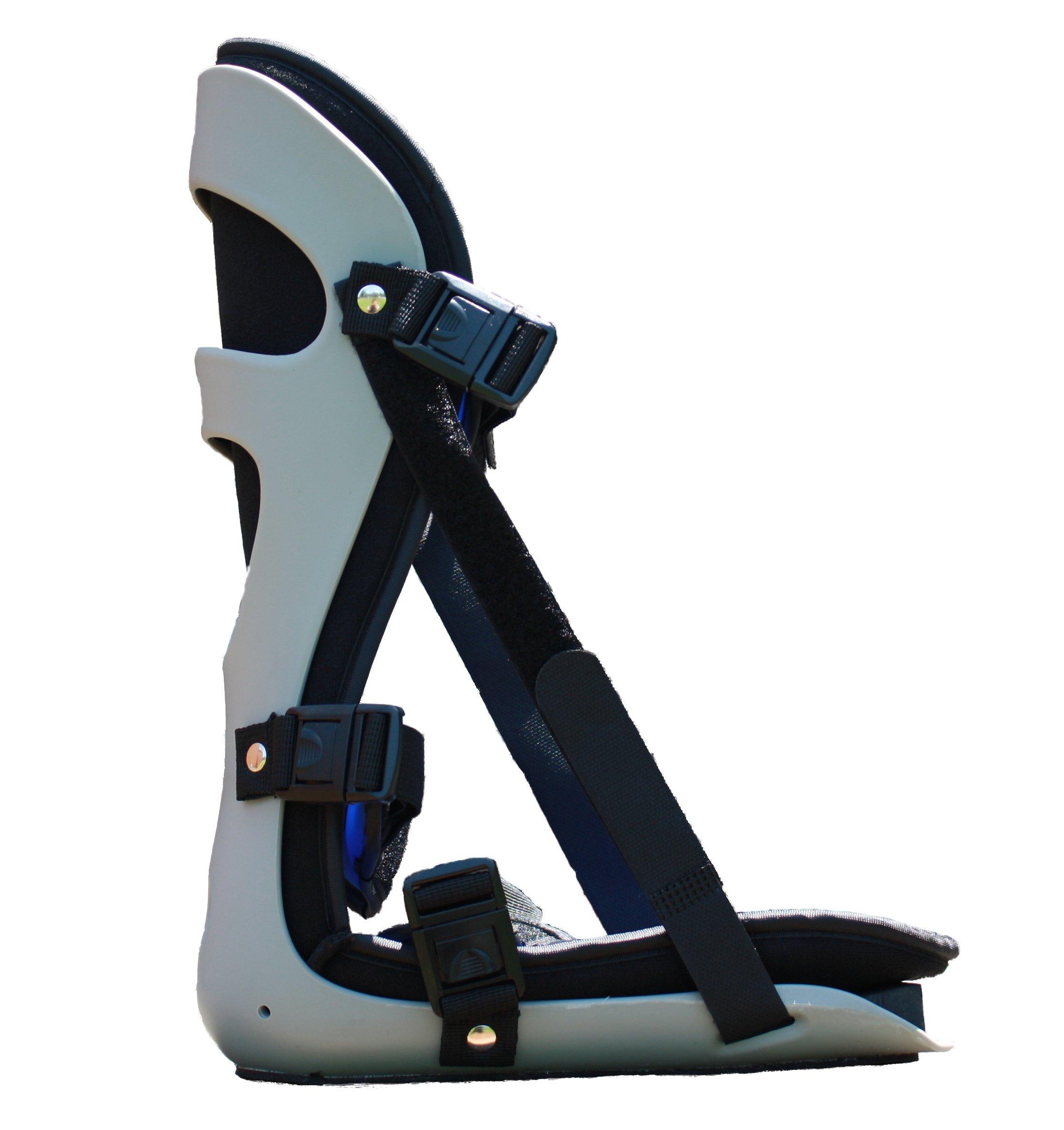 Alpha Medical Plantar Fascitis Night Splint Heel & Foot Pain; P.F. Brace L4398 (Medium)