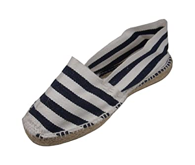 Alpargatus - Espadrille White Stripes Blue 42 M EU / 9-9.5 DM US White