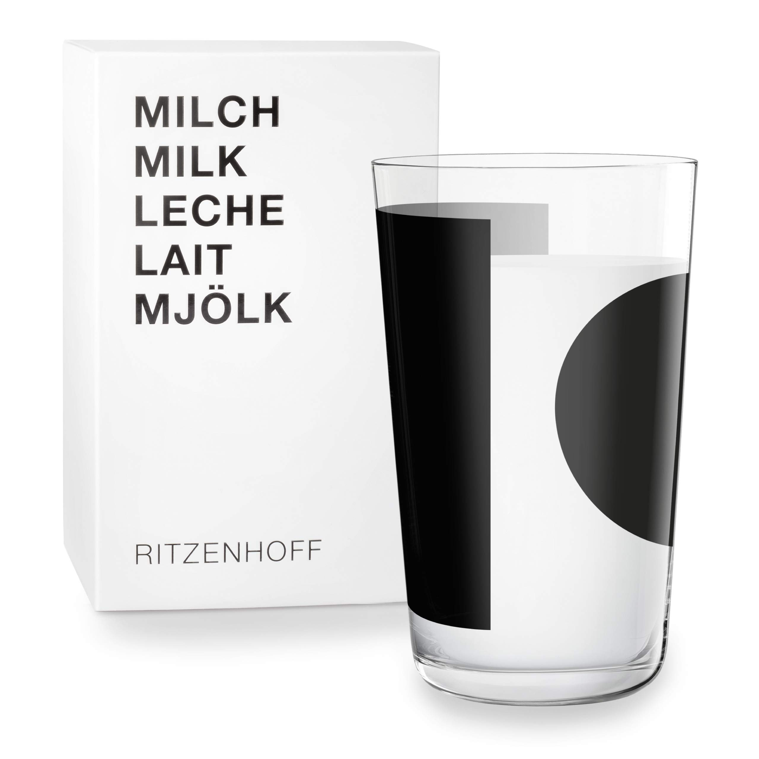 RITZENHOFF 3500002 Frosted Glass Black