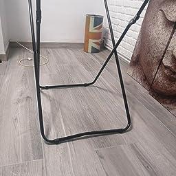 Metaltex Gale Tendedero para Puerta/mampara, Epotherm, Gris, 11 m ...