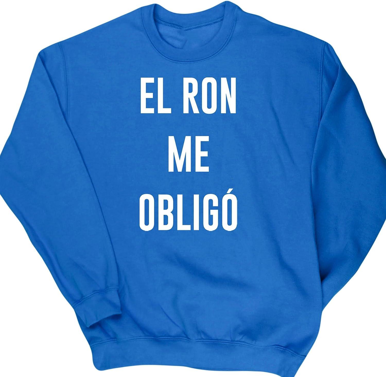 HippoWarehouse El Ron Me Obligó jersey sudadera suéter ...