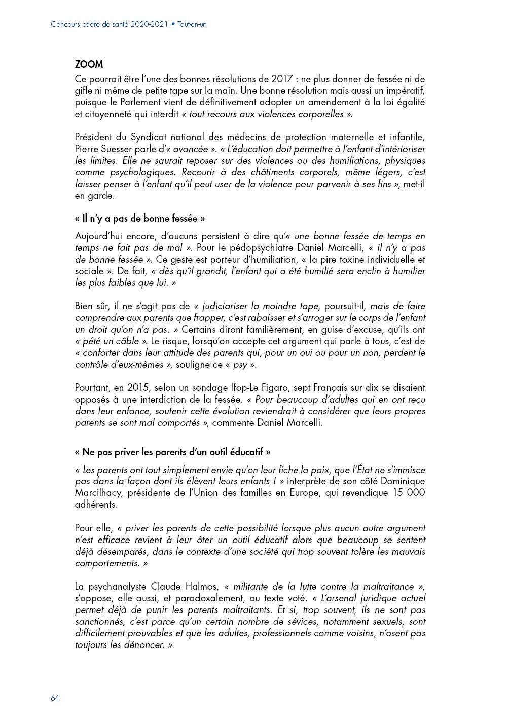 Amazoncom Concours Cadre De Santé Préparation Et
