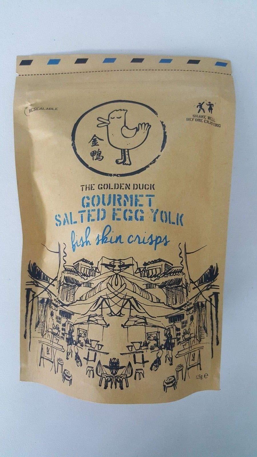 Amazoncom Irvins Salted Egg Fish Skin Crisps 105g