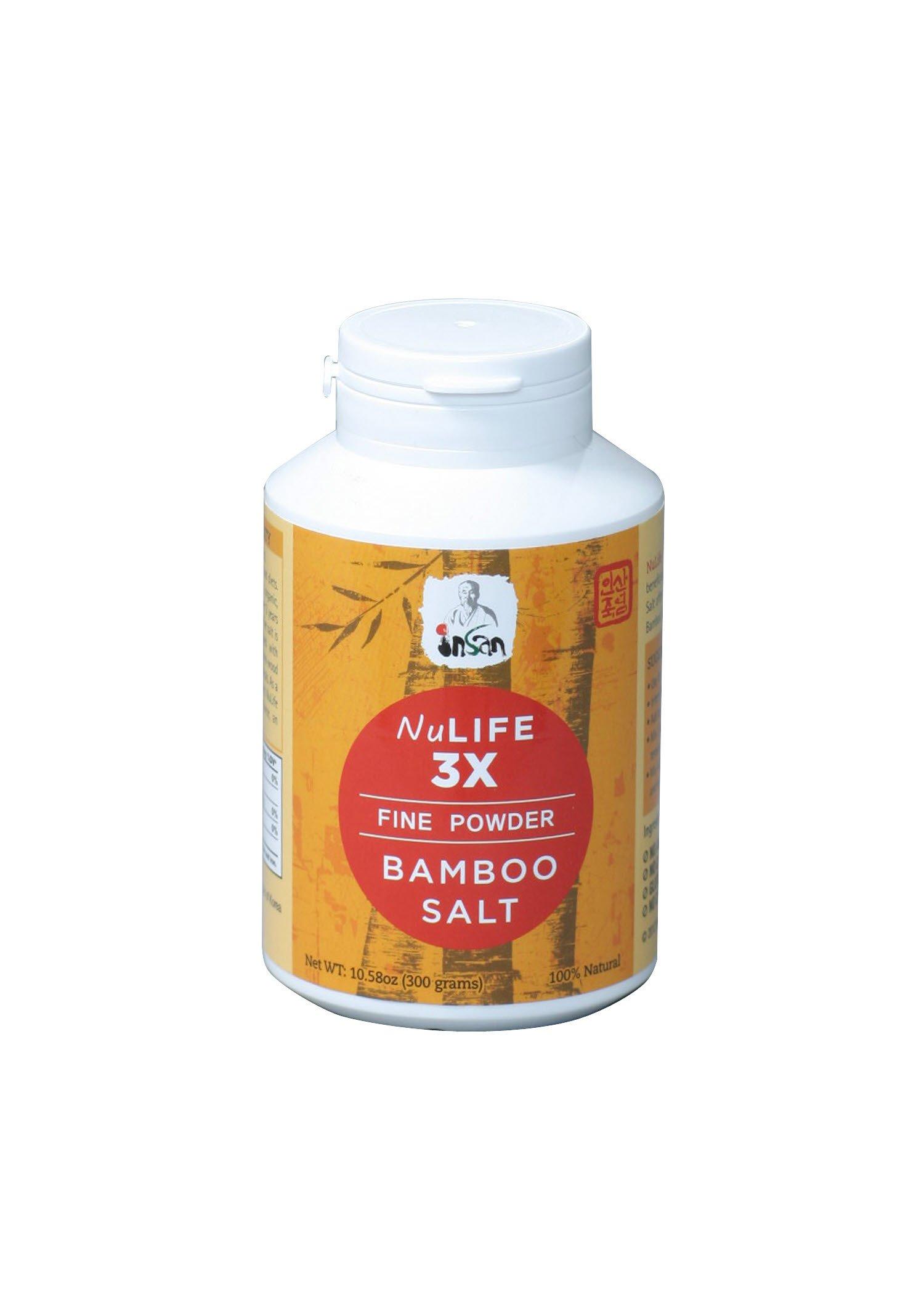NuLife 3x Roasted Bamboo Salt (Powder) 300g by My Bamboo Salt (Image #1)