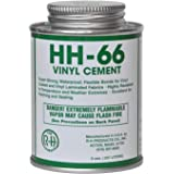 HH-66 PVC Vinyl Cement Glue with Brush 8oz (1)