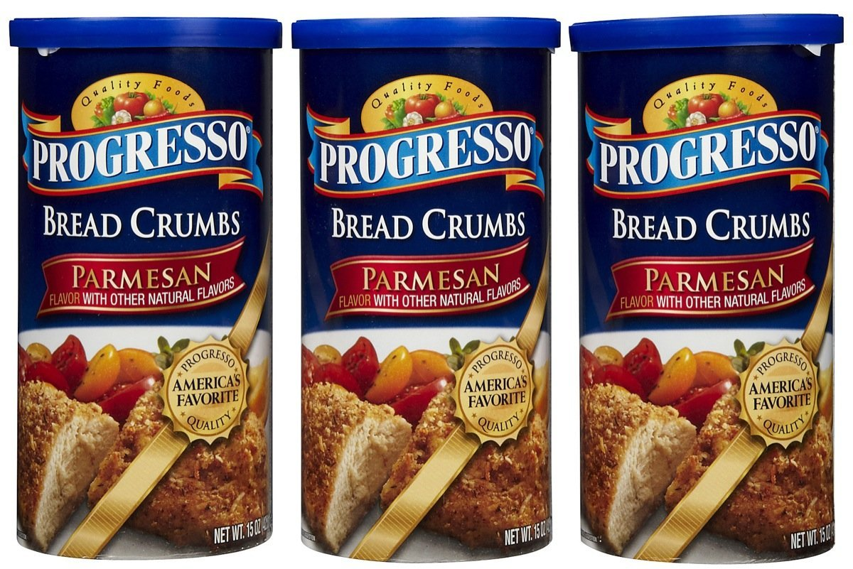 Progresso Bread Crumbs - Parmesan - 15 oz - 3 ct