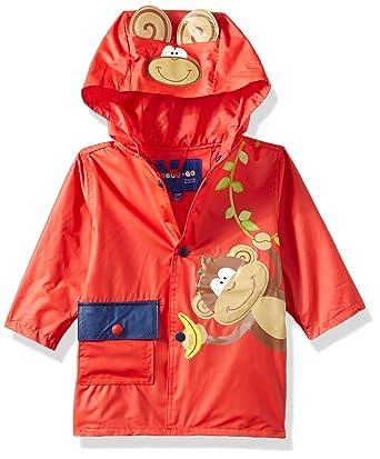 c6e4f2538 Amazon.com: Wippette Baby Boys Monkey On Vine Inf Raincoat: Clothing