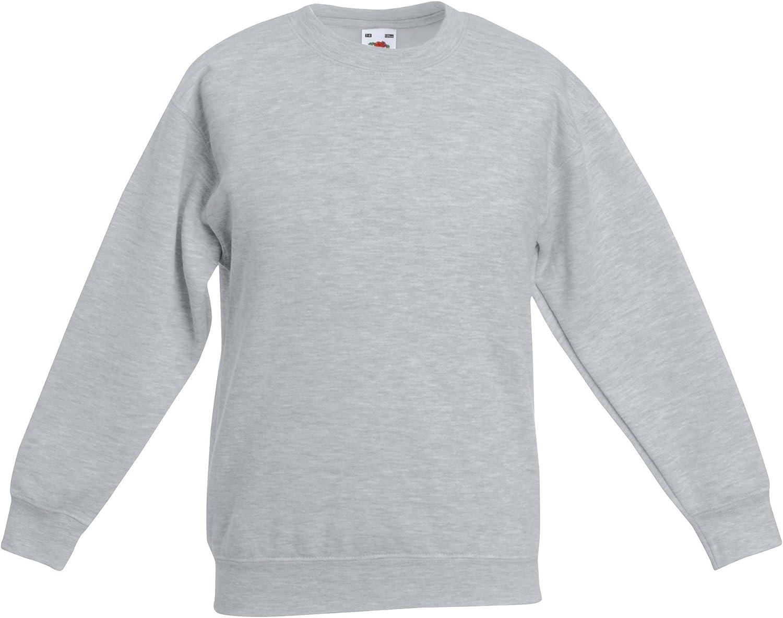 Fruit of the Loom Kids Set In Sleeve Sweatshirt