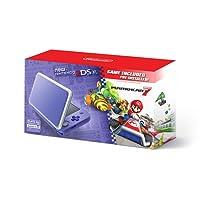 Nintendo 2DS XL, Purple/Silver con Juego Mario Kart 7 - Bundle Edition
