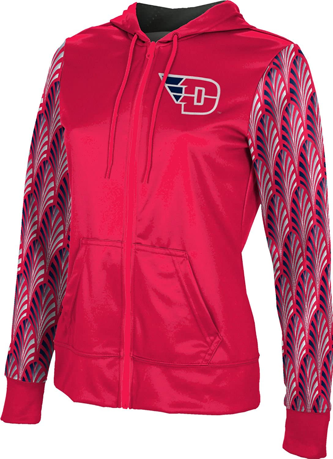 ProSphere University of Dayton Girls Zipper Hoodie School Spirit Sweatshirt Deco