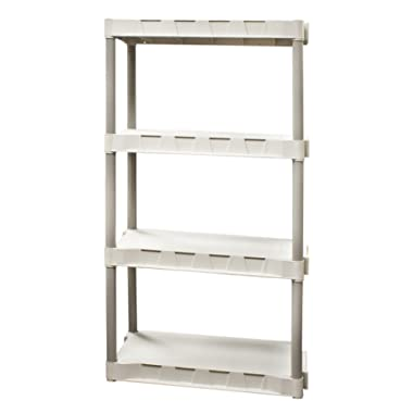 Plano Molding 9314-02 4-Shelf Interlocking Utility Shelving