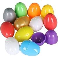 TRIXES Paquete de 12 Coloridos Huevos de Pascua