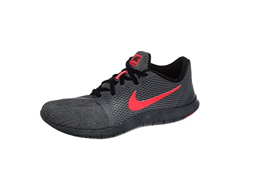 Nike Flex Contact 2, Zapatillas de Atletismo para Hombre, Multicolor (Dark Grey/Red Orbit/Black/Anthracite 016), 44 EU: Amazon.es: Zapatos y complementos
