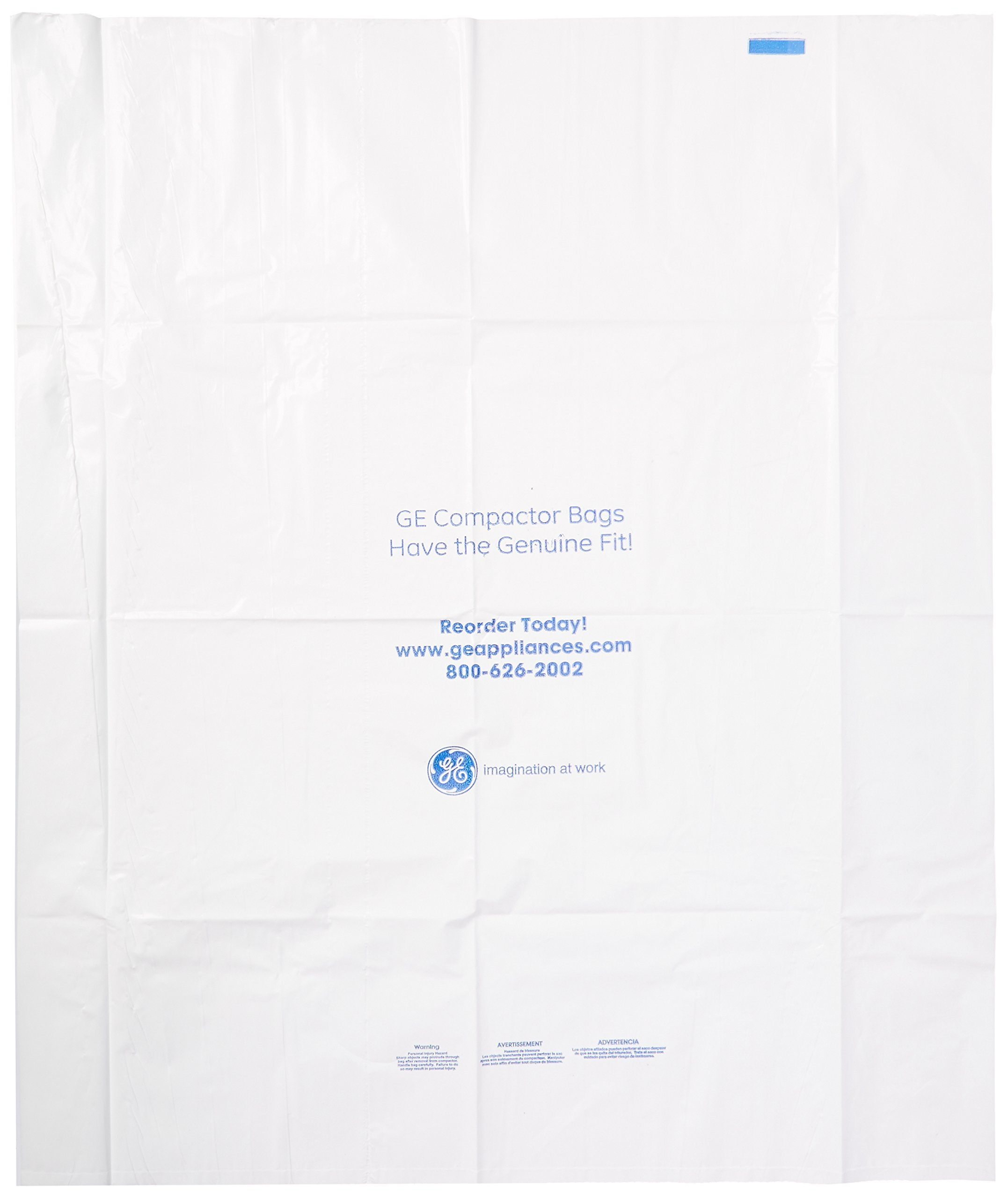 GE APPLIANCE PARTS WX60X75 COMP GE Universal Compact Bags 75 count