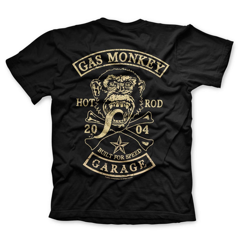 Gas Monkey Garage - Camiseta Licencia Oficial, con Estampado ...