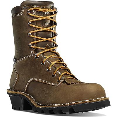 "Danner Men's Logger 8"" 400G Work Boot | Industrial & Construction Boots"