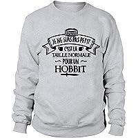 Petit Hobbit | C'est la Taille Normale en Comté| Sweat Homme pour Les Fans de l'univers du Seigneur des Anneaux