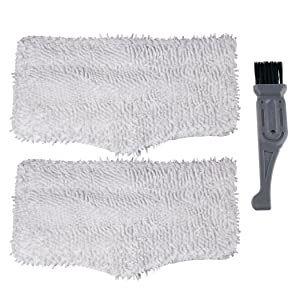 I clean Microfiber Pads (XT3101) Replacement Shark Steam Cleaning Mop S3101, S3250, S3251, S3202,SK410, SK140,Compatible Shark Steam Spray Washable Mops 2pcs