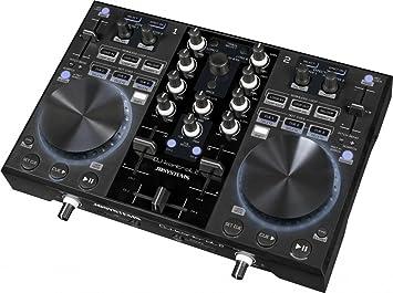 JB Systems 381 - Controlador USB MIDI DJ tarjeta sonido ...