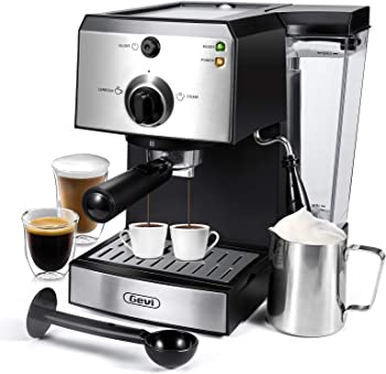 Gevi Fast-heating Super-automatic Espresso Machine Under $400