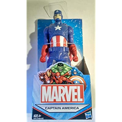 "Marvel Universe Avengers 6"" (Approximate Size) All Star Captain America Action Figure Australian Release: Toys & Games"