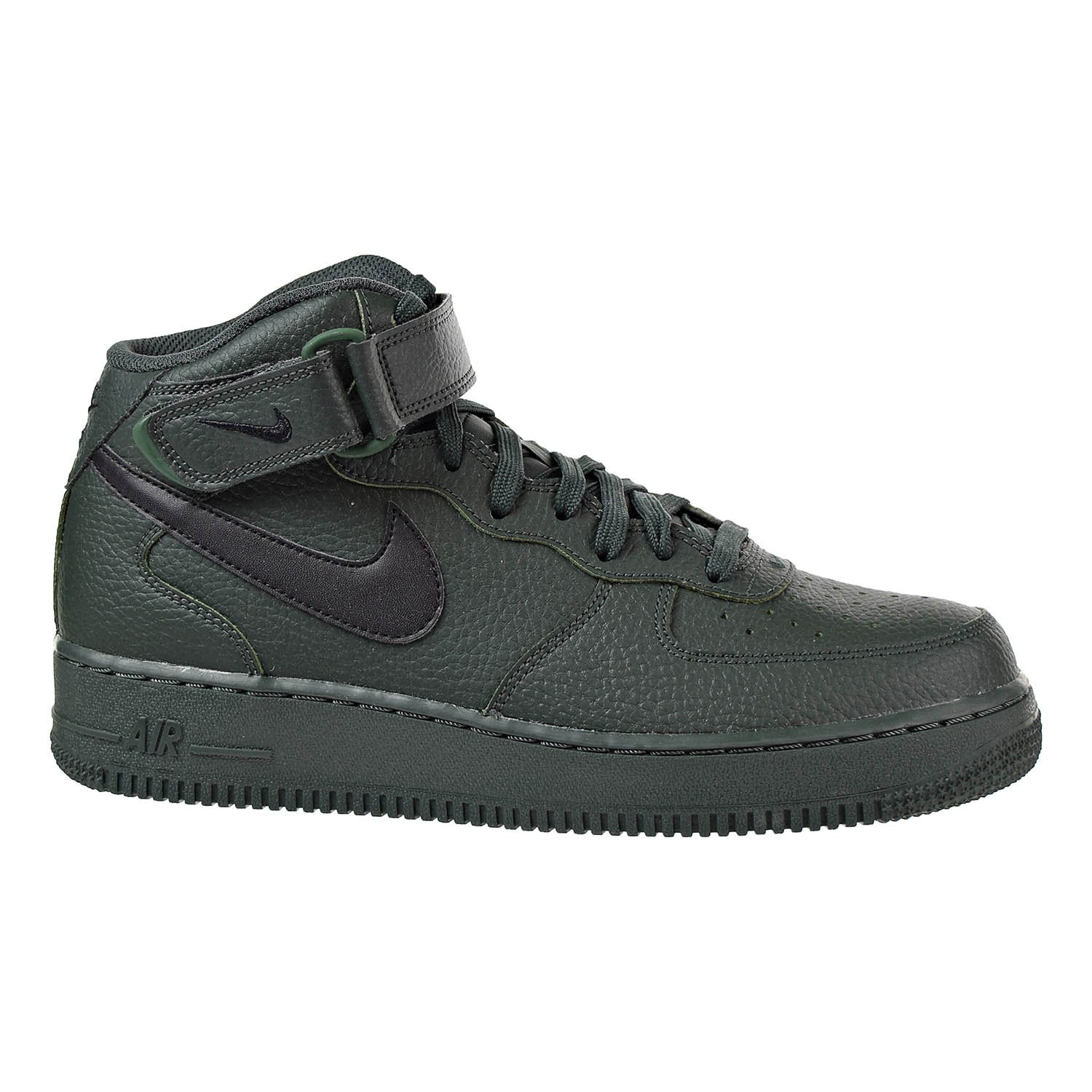 38 Herren Nike Air Force 1 '07 LV8 Lthr Schwarz AJ9507