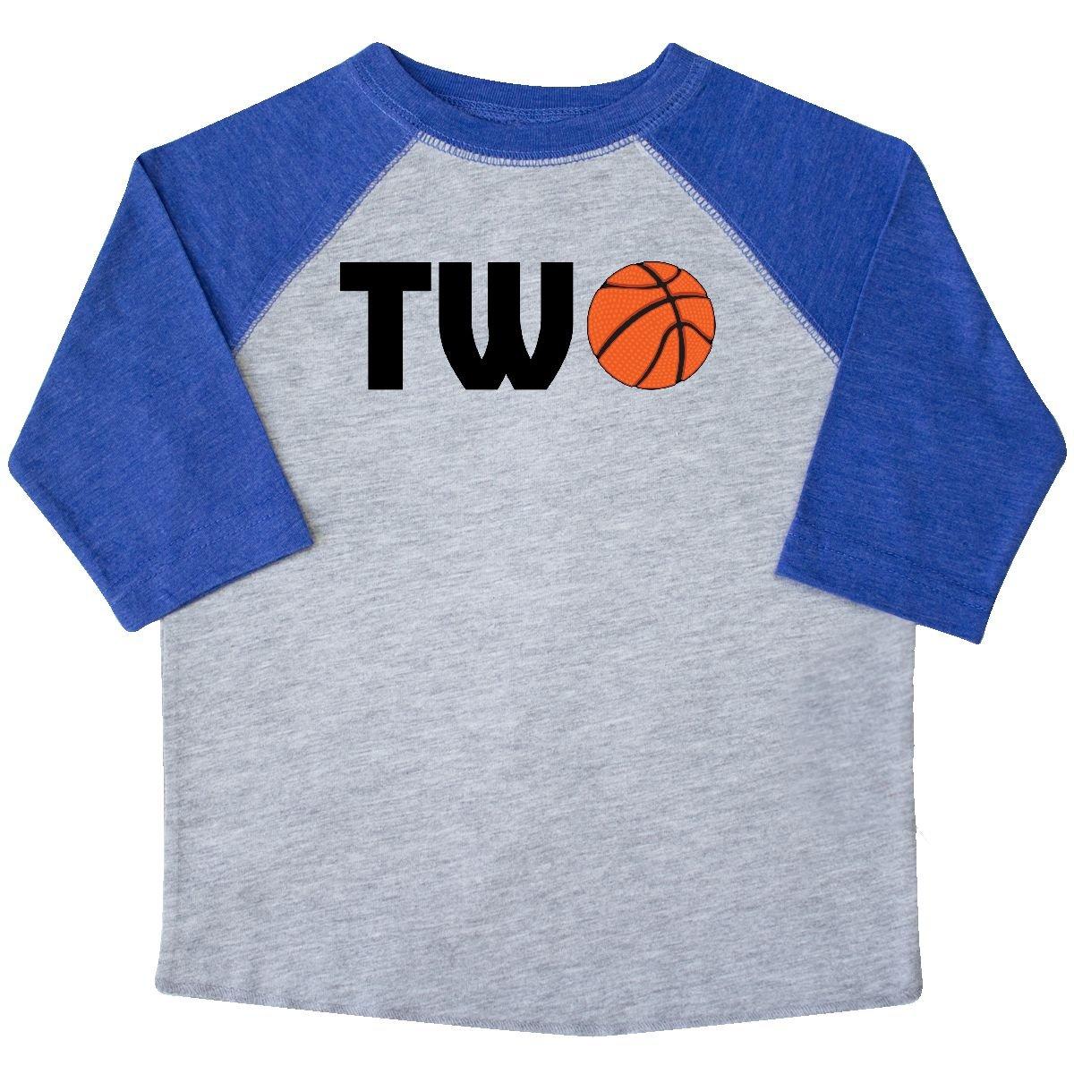 inktastic Second Birthday Basketball 2 Toddler T-Shirt