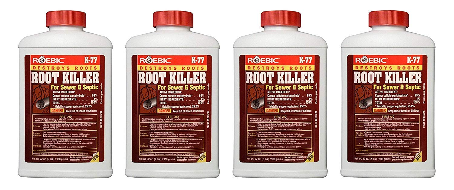 Roebic Laboratories K-77 Root Killer, 32OZ (4-Pack)