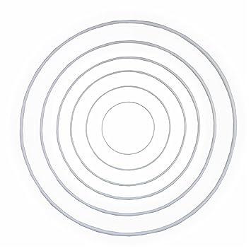 Drahtringe Set 10-20-25-30-35-40 cm je 1 Stück verschiedene Größen ...