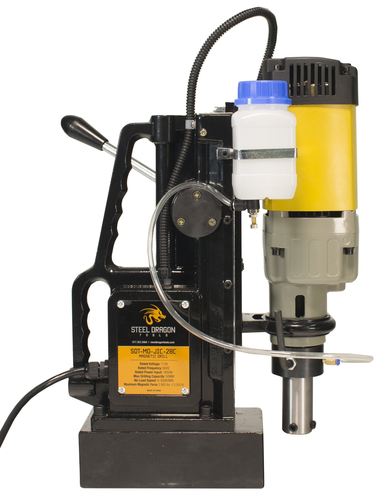 Steel Dragon Tools MD50 Magnetic Drill Press with 2'' Boring Diameter and 2,900 LBS Magnetic Force by Steel Dragon Tools (Image #4)