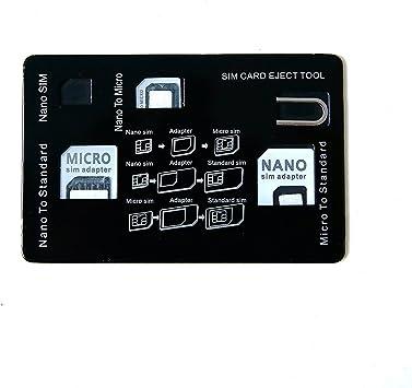 Tarjeta SIM Adaptador UMIDIGI Nano / Micro / Estándar / expulsa el ...