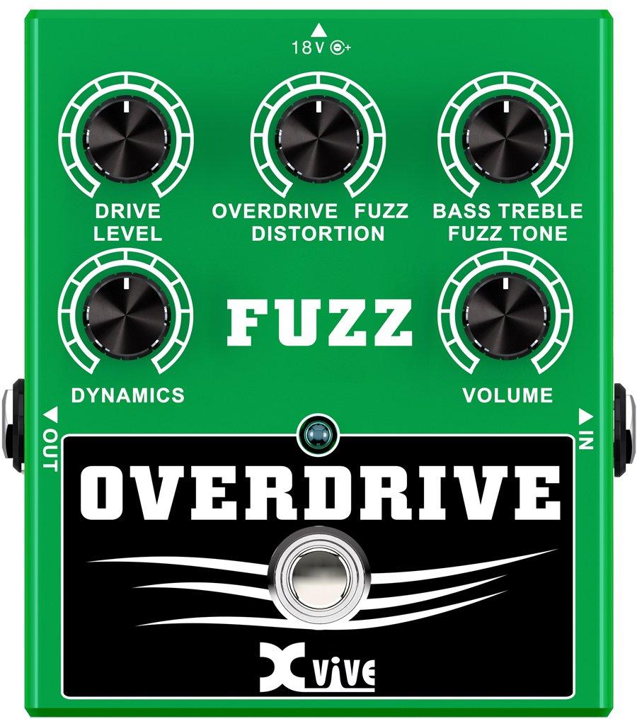 Verschwommene Overdrive Effektpedal für Gitarren Xvive XW2