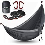 ETROL Large Hammock Camping Lightweight Parachute Portable Hammocks for Travel, Indoor, Outdoor Backpacking, Beach…