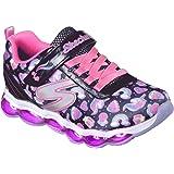 Skechers Kids Girls' Glimmer Lights-Sparkle Dreams Sneaker