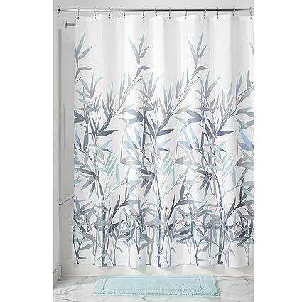 Exceptionnel InterDesign 36525 Anzu Fabric Shower Curtain   Standard, 72u0026quot; X  72u0026quot;, ...