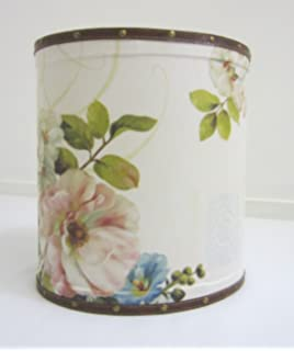 Vintage Style Shabby Chic Distressed Pedal Bin Ideal for Bathrooms ...