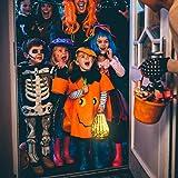 JARVANIA Fall Decor Glass Pumpkins, Halloween