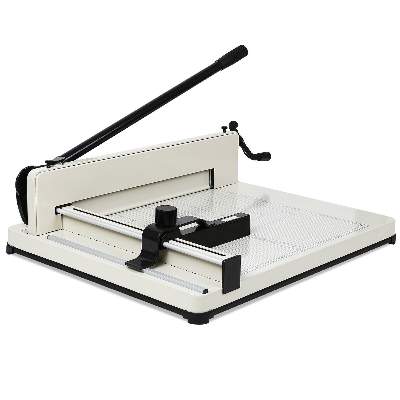 Mvpower Ghigliottina Tagliacarta Formato A3 Per Ufficio Taglierina Max 43cm Grande Paper Cutter Professionale Con Trimmer Precisione