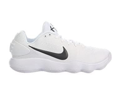 Nike Men's React Hyperdunk 2017 Low White/Black Synthetic Running Shoes 7 D  US