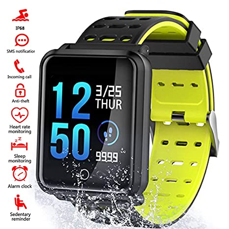 Amazon.com: Smart Watches n88, IP68 impermeable deportivo ...