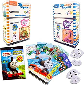 Thomas and Friends Emotions Express - Juego de imanes para Aprender inglés y español con Letras del Alfabeto, números y emociones (Thomas The Tank Engine Learning & Education): Amazon.es: Juguetes y juegos